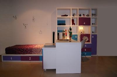 C mo montar un dormitorio juvenil completo en una - Como sacar los metros cuadrados de una habitacion ...