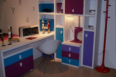 C mo montar un dormitorio juvenil completo en una - Como decorar una habitacion pequena juvenil ...