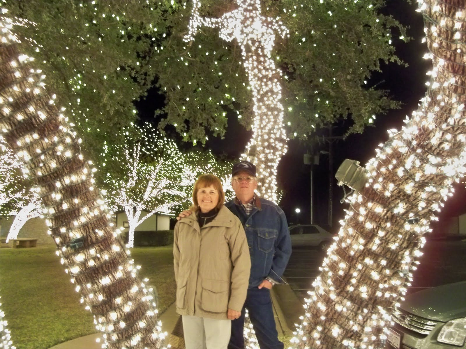 Backroads with Barb and Bill: 1 Million Lights in Johnson City, TX ...