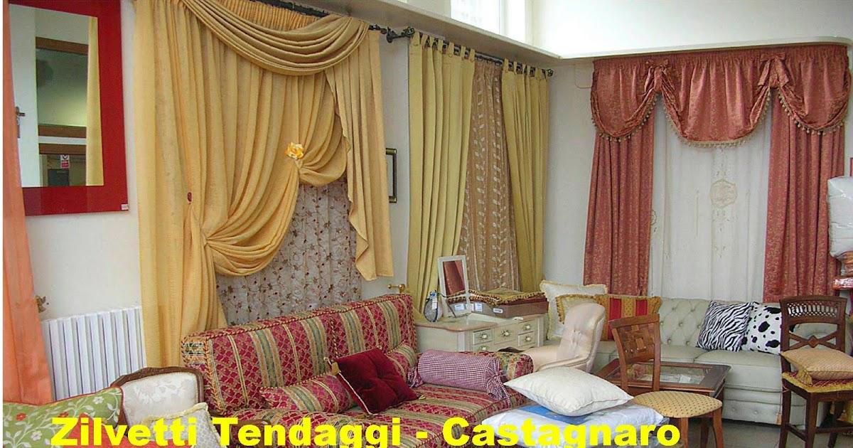 Tende materassi letti poltrone divani zilvetti tendaggi linea tende e tendaggi per interni e - Tendaggi interni casa ...