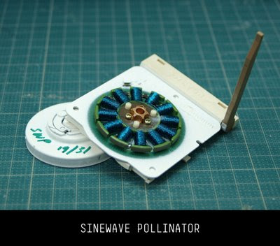 sinewave pollinator