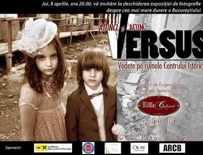 invitatie final1   Versus   Vedete pe ruinele Centrului Istoric  @Bucureşti
