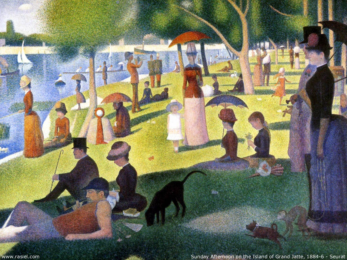 George Seurat: Sunday Afternoon on the Island of La Grande Jatte