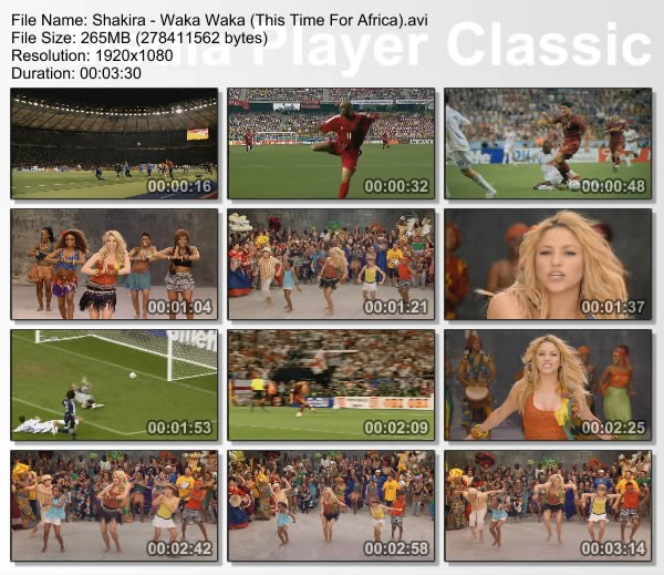 FIFA World Cup 2010 Official Anthem Shakira - Waka Waka