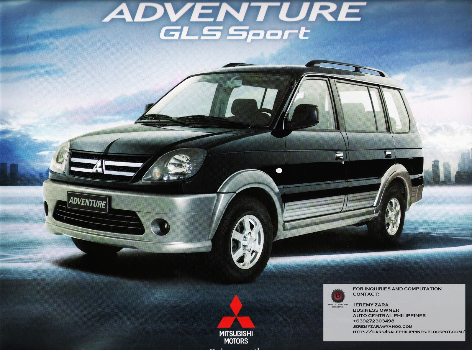 Brand New Cars for Sale: BRAND NEW MITSUBISHI ADVENTURE ...