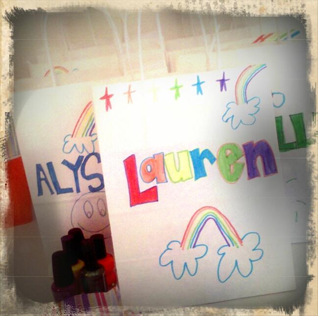 ramblings of one crazeE mama: a little 10 year old birthday fun...