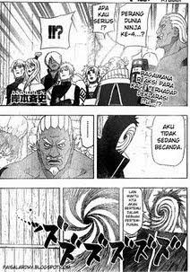 Komik Naruto 468 - Hachibi dan Kyubi