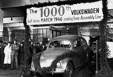The 1000th VW Beetle