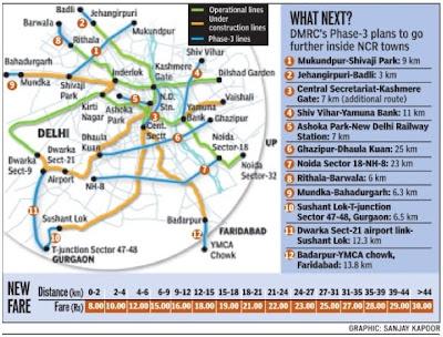 delhi metro map,