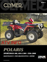2010 Clymer atv Polaris innovation Sportman