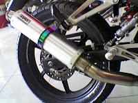 Modif motor Suzuki satria Fu 150 cc