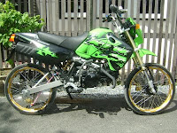 Kawasaki KSR Mini supersport Bike Harga