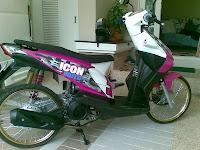New Modifikasi Honda icon Thai motorcycles 2009