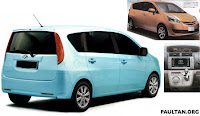 New Toyota MPV 2010 edition