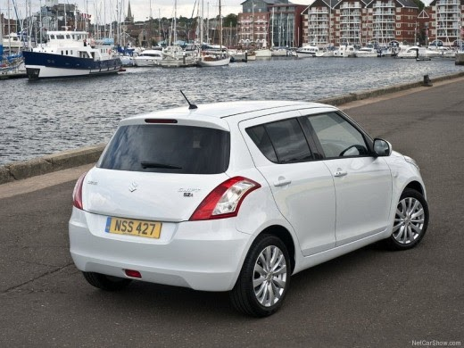 2011 New Suzuki Swift In Us White Color