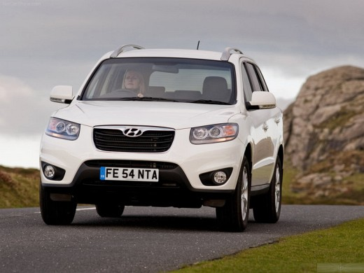 New Hyundai Santa Fe Suv Diesel Cars In India In 2011