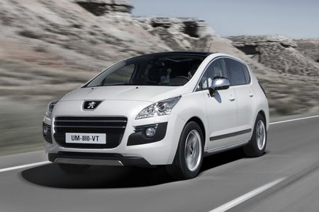 2011 latest peugeot 3008 hybrid4 dash photos