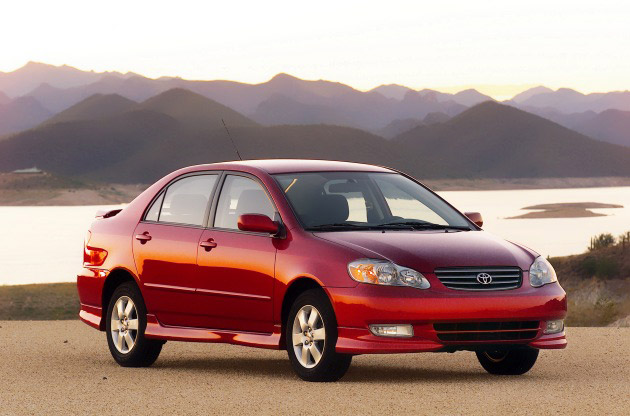 US Toyota Corolla Red Color Pictures. The National Highway Traffic Safety