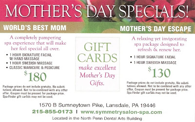Mothers Day 2010 Specials