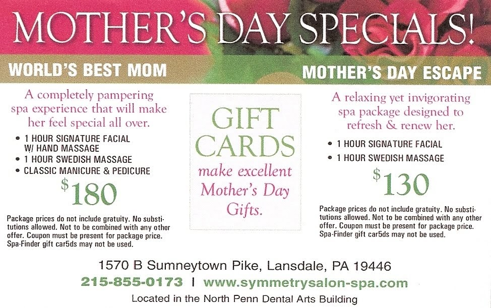 News and Salon Specials: Mothers Day 2010 Specials