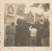 En el Cementerio de Cúcuta (1958):