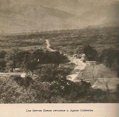 """El destruido PUEBLO DE """"LOS QUEMADOS, ABRIACA o CUCÚTA"""" en 1880,"""