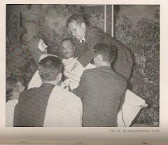"""Semana Santa en la Iglesia de Ureña, """"EL Desenclavamiento"""", año 1954:"""