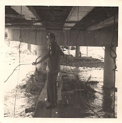 Puente Francisco de Paula Santander en construcción, año 1969.
