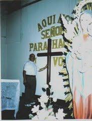 La Santa Cruz en la Capilla del Fundo Plaza Vieja: