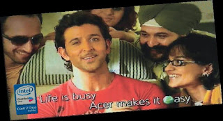 Hrithik Roshan - Life is busy. Acer makes it easy