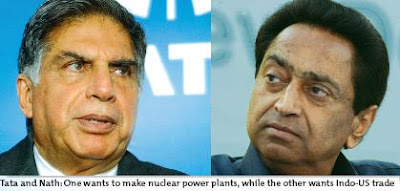 Tata and Nath: One wants to make nuclear power plants, while the other wants Indo-US trade