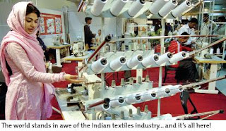 The world stands in awe of the Indian textiles industry... and it's all here!