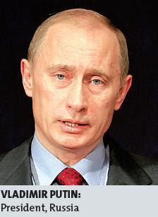 VLADIMIR PUTIN : President, Russia