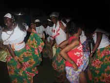 O tambor levou crioulas e crioulinhas ao terreiro de Dona Lindalva