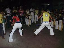 O ritmo e a ginga da Capoeira contagiou o Ponto
