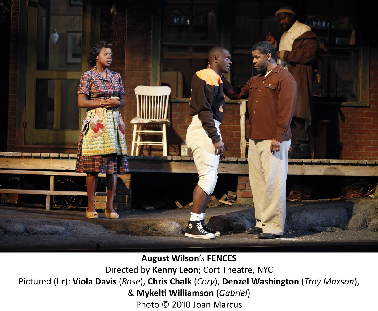 fences by august wilson Despite being a titanic figure of american theater, wilson's work has never been adapted for the screen before denzel washington's fences why.