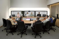 Videoconferencing instead of flying