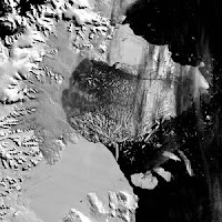 Larsen-B Iceshelf breakup, 2002