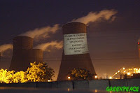 Greenpeace campaign against coal in UK