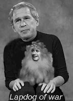 Harper: Bush&#39;s lapdog of war