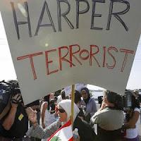 Harper = terrorist