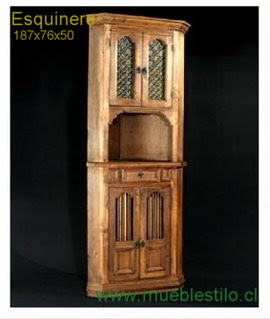 Muebles categorias for Bar de madera rustico esquinero
