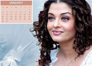 Bollywood Actress Calender 2011 Wallpapers
