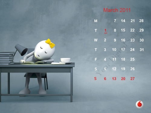 calendar 2011 march image. Wednesday, March 30, 2011 .