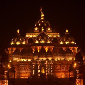 Delhi Akshardham Temple Wallpaper