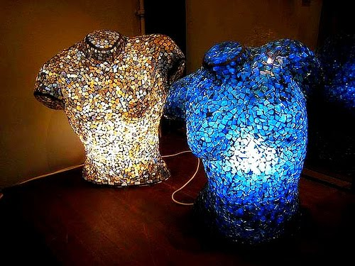 Unusual Table Lamps unusual art of table lamps designs | unique and unusual table