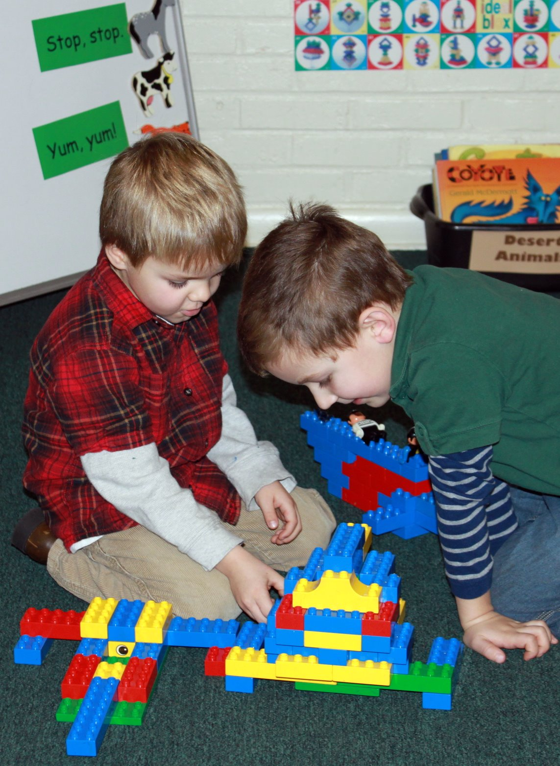 Cove Kindergarten Lockdown Drill