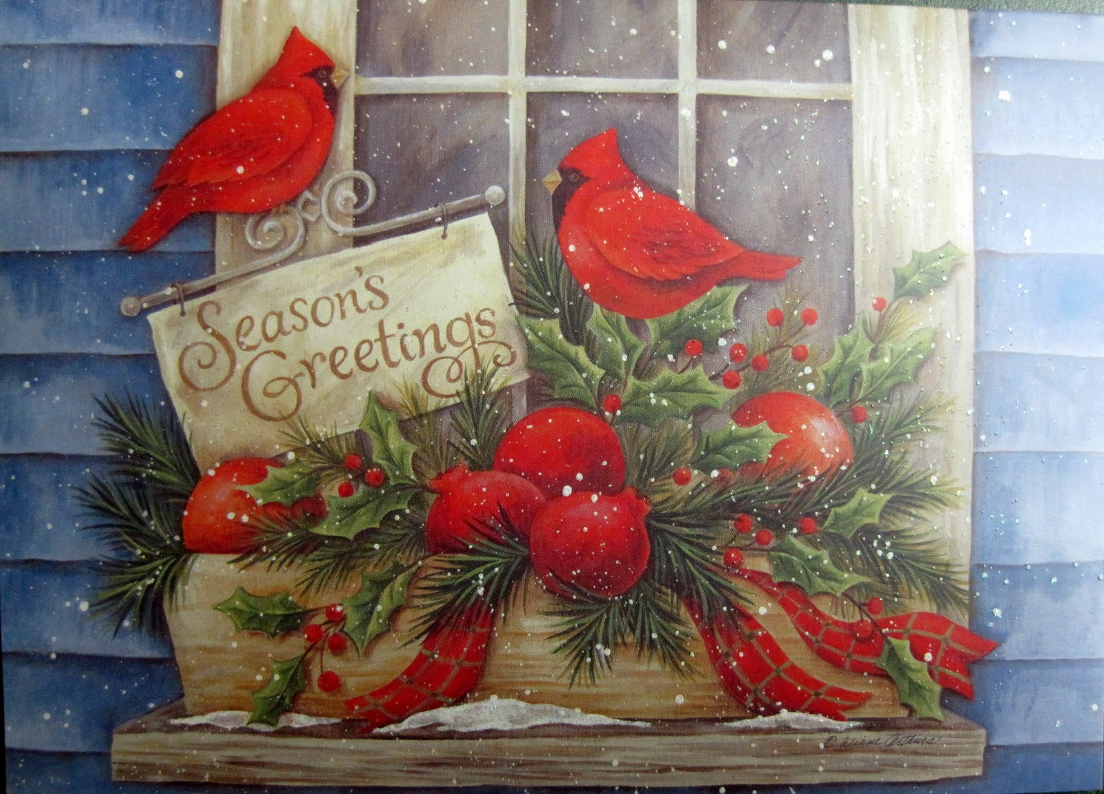 When A Gardener Sends Christmas Cards