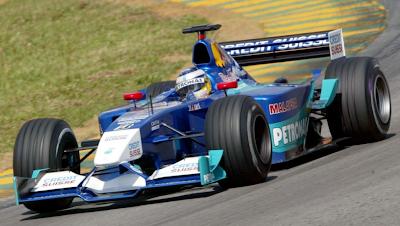 Equipe Sauber de Formula 1 de 2001 by carrodecorrida.blogspot.com