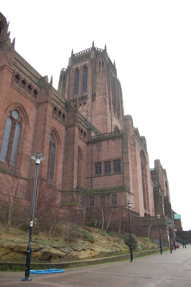 Amazing Catherdral in Liverpool